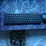 keyboard and mouse (w/o battey or the USB))