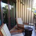 Lounge Chairs at Balcony