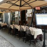 Osteria di Brera, tavoli esterni