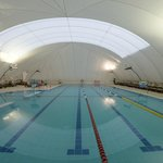 Covered Pool in the Winter