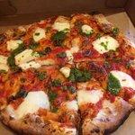 Margaherita Pizza to go.
