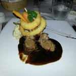 Australian lamb at Rocks restaurant