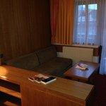 Wohnbereich, alte Möbel