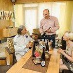 Weinverkostung mit dem Chef Martin