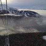 Whistler Peak to Peak Gondola View