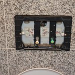 Les toilettes...hors d'usage