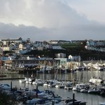 View of Brixham harbour
