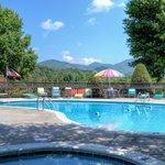 Pool at Highland Manor Inn