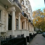 Hotel von außen - Prince's Square