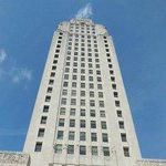 Louisiana's New State Capital - Check out the steps!