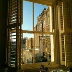 Blick aus dem Fenster - Zimmer Nr. 23