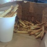small order of fries is enough for three or four people