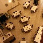 Restaurant is empty in the evening