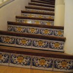 Spanish tile to upstairs dining. Not handicap accessible.