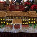 Cute gingerbread house.