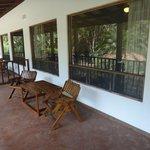 Porch of Garden View Standard Room