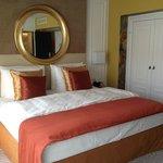Ein neu renoviertes Zimmer