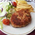 Homemade potato (sorry) fishcake