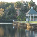 Gazebo over looking Crystal River