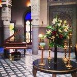 Riad's lobby