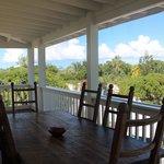 View from Jasmine Villa porch