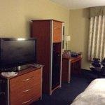 quarto bem confortável