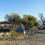 Panamint Springs Campground, sites 18-20