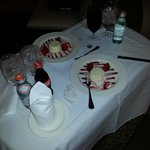 Cheesecake Room service