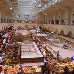 markthalle - interno - visuale dal 1.piano