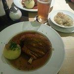 Sehr leckere bayerische Küche