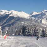 morning ski off point