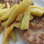 Chuleta con Patatas