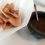 Fresh Tortilla Chips & Salsa Verde