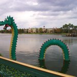 Dragon made of legos!