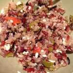 our home made mediterranean Quinoa salad