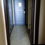 Spacious hallway in the room