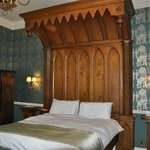Magnificent Gothic Bed in Room 1