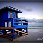 Famous Siesta Key Beach Life Guard Stand
