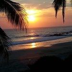 Sunset in Las Alamandas