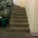 Old Stone staircase - nice.