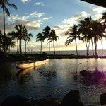 Sonnenuntergang Restaurant Humuhumunukunukuaupua'a