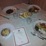 cena con servizio in camera