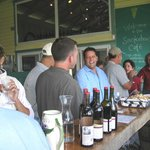 Quality Wine Tour group at  Glenora winery 2013