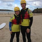 All geared up and ready for Coasteering!