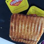 Toast and vegemite