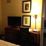 TV & Desk in Bedroom