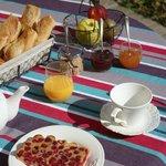 La Foulerie - Petit déjeuner (pain Bio et confitures maison)