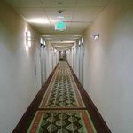 Clean, well lit hallways