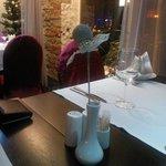 Restaurant Berlin: a lovely table decoration