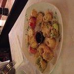Tempura di verdure con Soya e miele di Palma